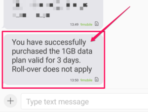 Etisalat 200 Naira Data Plan