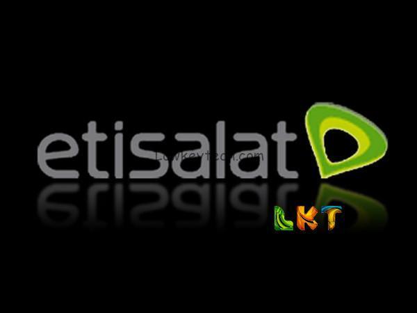 Etisalat Data Subscription Code