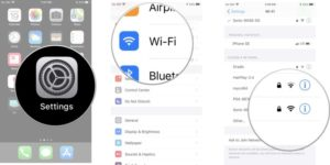 How To Forget a WiFi Network On Your iPhone or iPad