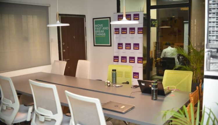 FCMB's co-working space in Yaba