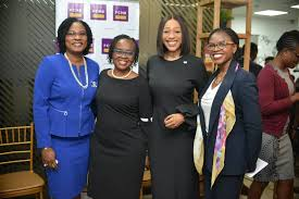 Executive Director, Business Development, Bukola Smith, with other FCMB executives at the event