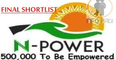 NPower Recruitment Application Form Portal