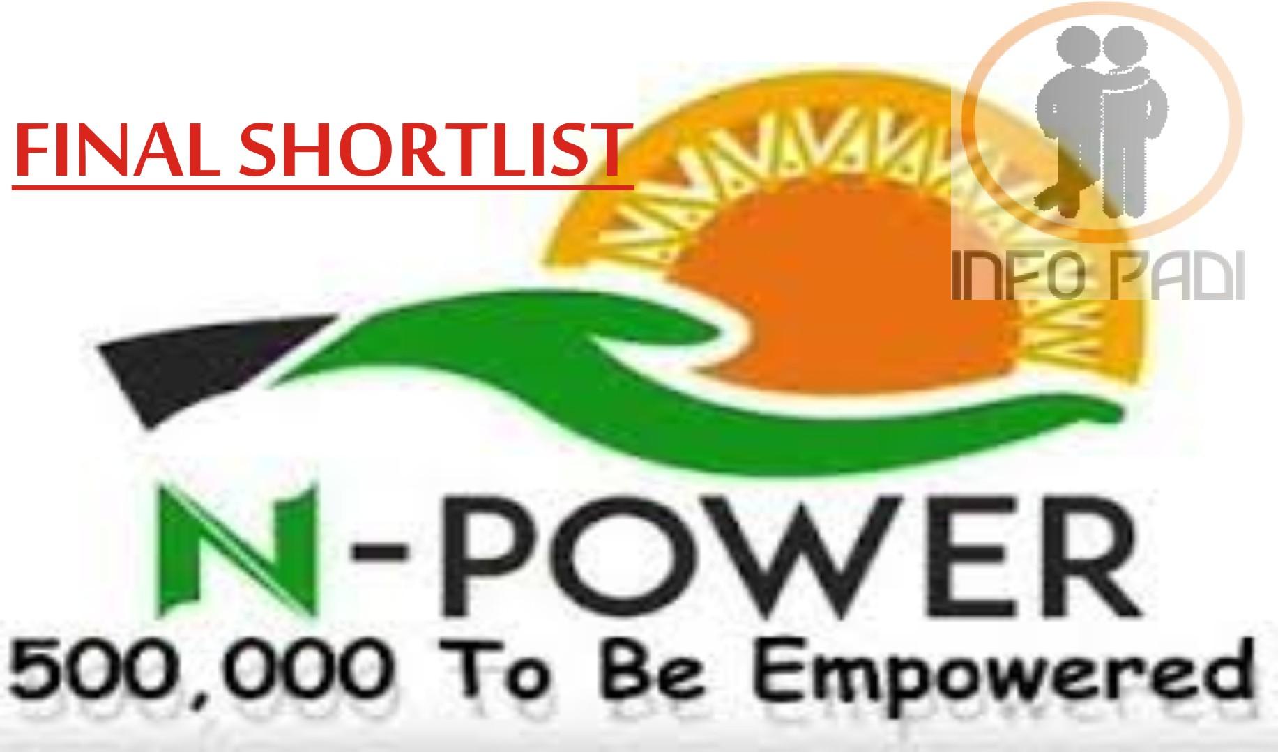 NPower Recruitment Application Form Portal