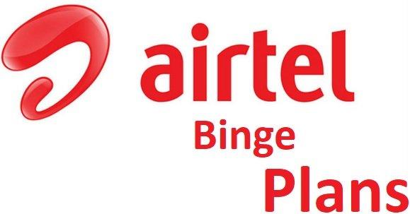 Airtel Binge Plans
