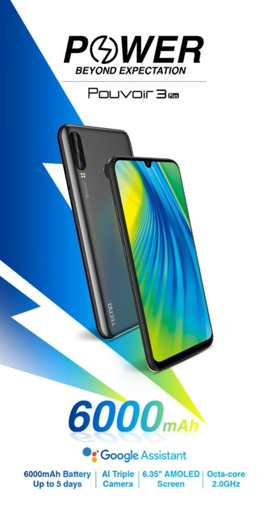 Tecno Pouvoir 3 Air Review, Specifications And Price